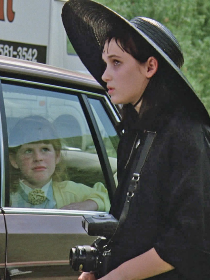Winona Ryder as lydia in Beetlejuice