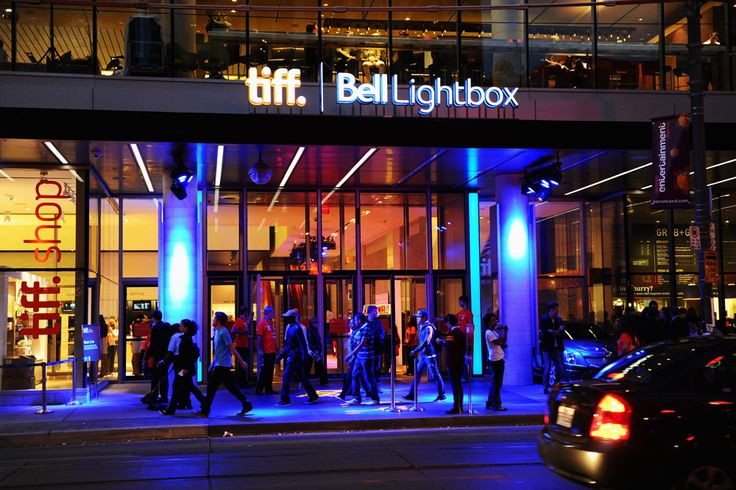 TIFF Bell Lightbox - the centre of the Toronto International Film Festival. But you can see great movies there all year round!