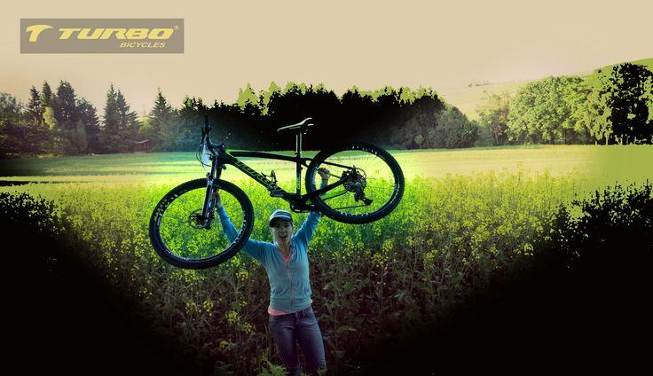 """La campeonísima Lorenza Morfín nos regala esta magnífica postal con su bicicleta Turbo 27.5"""""""