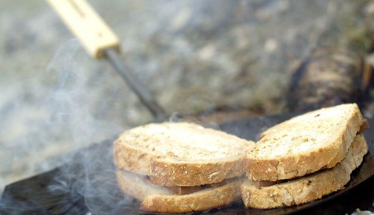 brød med snickers grill