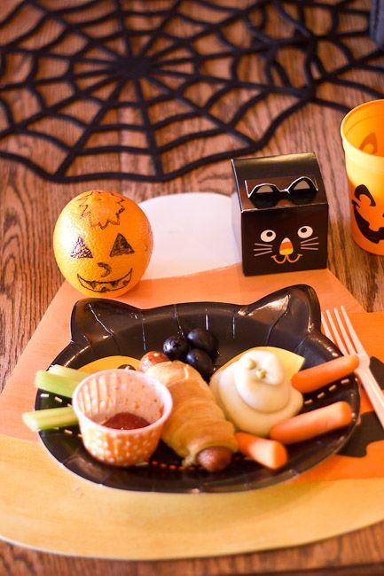 classic halloween preschool party - Halloween Decorations Food