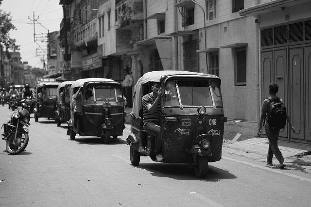 Tuk Tuk in Agra
