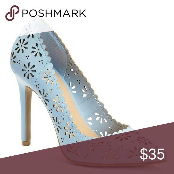 Lc Lauren Conrad heels Lc Lauren Conrad light blue heels. LC Lauren Conrad Shoes
