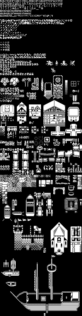REXPaint, an ASCII art editor