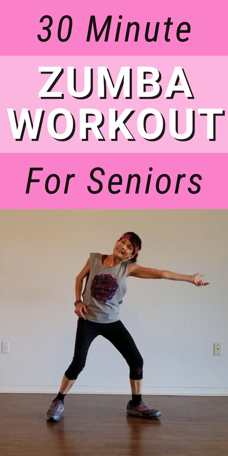 Lively 30Minute Senior Zumba Workout Fitness With Cindy