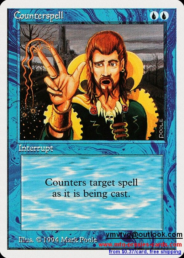 Counterspell.xlhq Magic The gathering proxy mtg proxies cards customize from 0.37$ free shipping SUM - Summer Magic (Edgar)