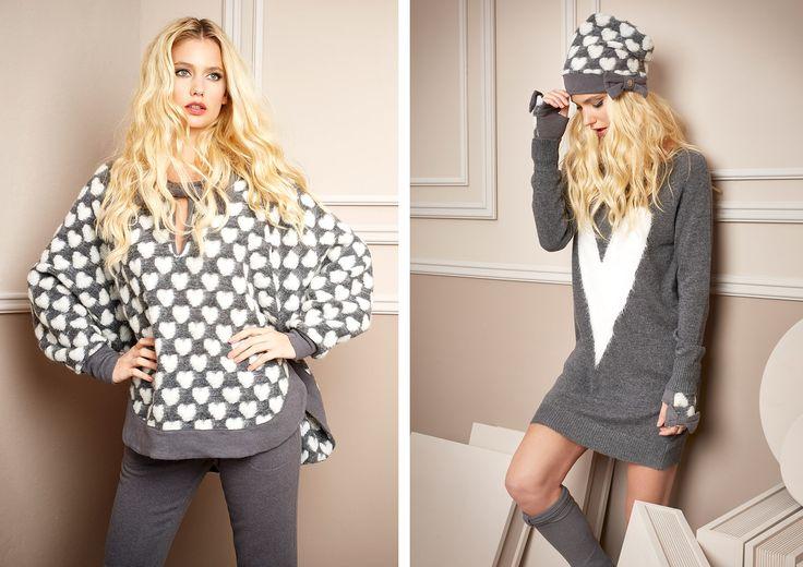 Pepita - Home & Sleepwear FW 2016/17 Shop by look: Poncho lana jacquard https://shop.pepitastyle.com/it/fall-winter-2016-17/423-poncho-in-lana-jacquard-con-cuori.html Pantalone con intarsio https://shop.pepitastyle.com/it/fall-winter-2016-17/427-pantalone-con-polsino.html __ Abito in maglia intarsio a cuore https://shop.pepitastyle.com/it/fall-winter-2016-17/437-abito-in-maglia-con-intarsio-a-cuore.html