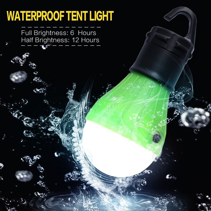 Portable Outdoor LED Lights Bulb serve as emergency Lighting, night outdoor play, camping, hiking, hunting, mountaineering, fishing, reading are appropriate and not to missed.