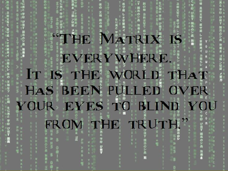Matrix Quotes. QuotesGram