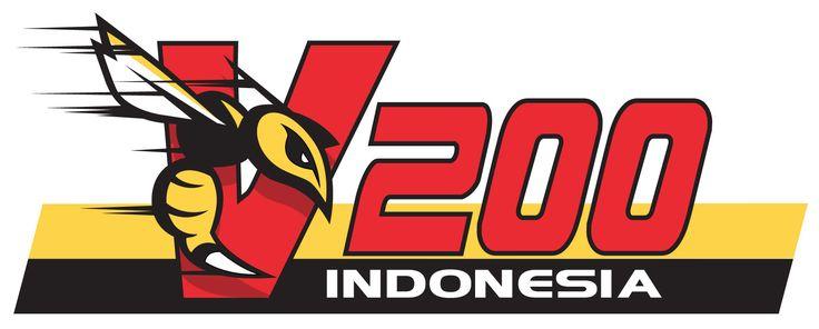 Vespa 200 Indonesia Community Logo