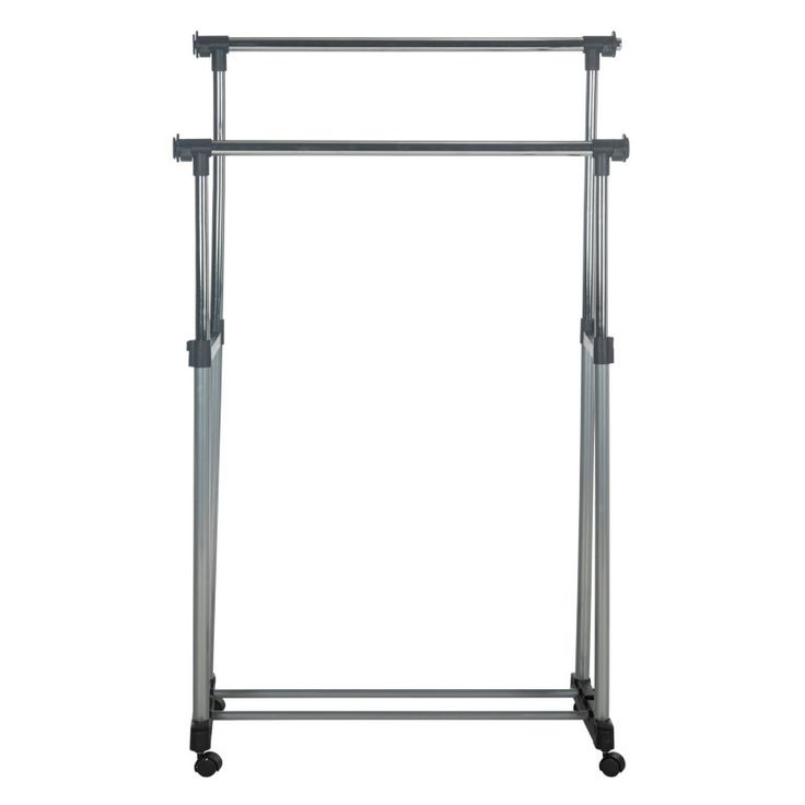 Safavieh Alfred Double Rod Portable Clothes Rack - HAC1018A