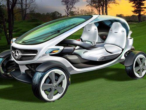 La voiturette de golf de demain selon Mercedes