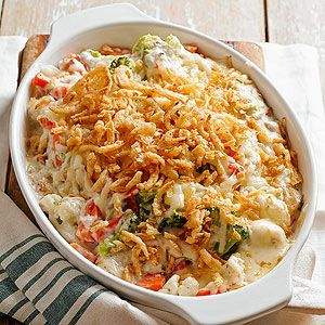 Swiss Vegetable Medley Frozen vegetables make this side dish casserole recipe super simple to assemble. Choose from several combinations of vegetables.