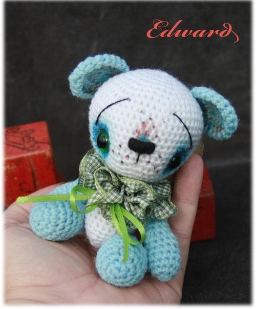 Edward-anime-amigurumi-artist-bear Crochet! Amigurumi ...