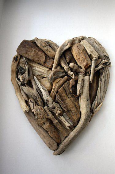 fantastico cuore di legno!