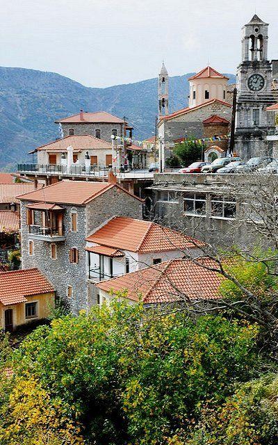 Lagadia village, Arcadia (Peloponnese), Greece   by anjči