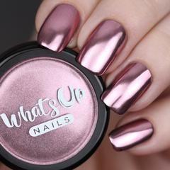 Whats Up Nails – Poudre de Chrome Rose