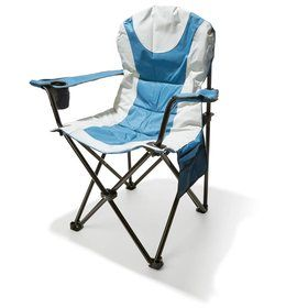 Padded Mega Chair - Blue/White