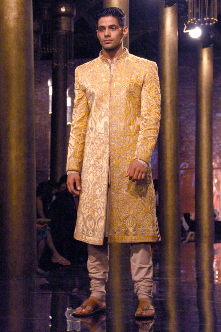 Ornate sherwani
