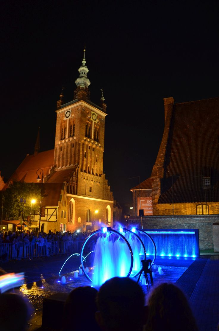 New fountain in Gdańsk - Hevelius square #gdansk #heveliussquare #fountainingdansk