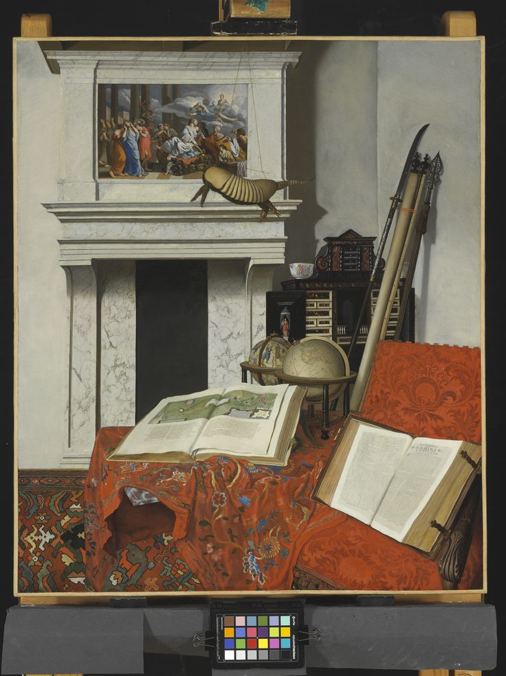 Jan van der Heyden, Still Life with rarities, 1712 Szépmüvészeti Múzeum Budapest Credit Line: Purchased, Esterházy Collection, 1871