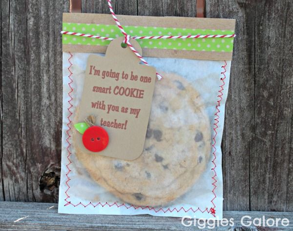 One Smart Cookie Teacher Gift Idea