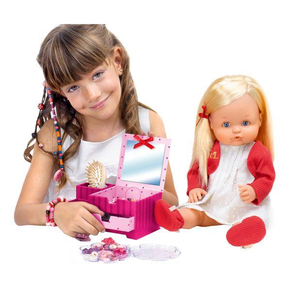 Muñeca Nenuco niña Cotton Line Famosa