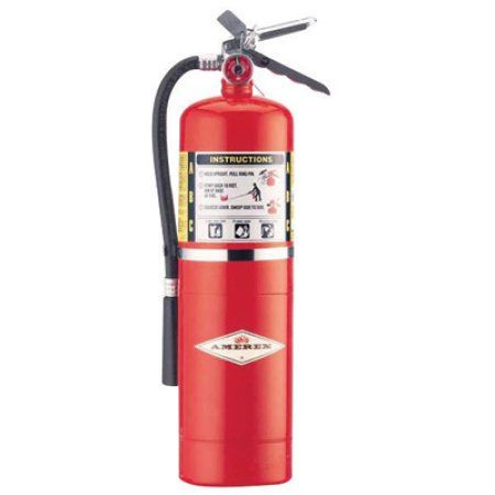 Amerex 10 Pound ABC Dry Chemical Fire Extinguisher With Aluminum Valve, Multicolor