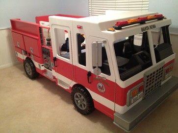 fire fighter beds for kids | Fire Truck Bed modern kids beds