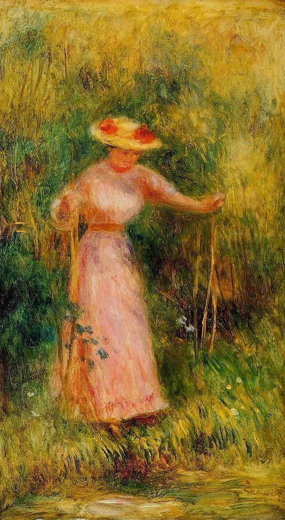 Auguste Renoir - La Balançoire (1895)