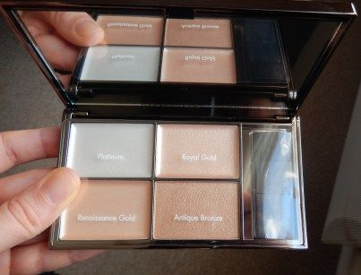 Le strobing avec Sleek Makeup