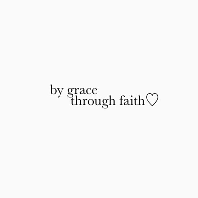 ||by grace through faith||