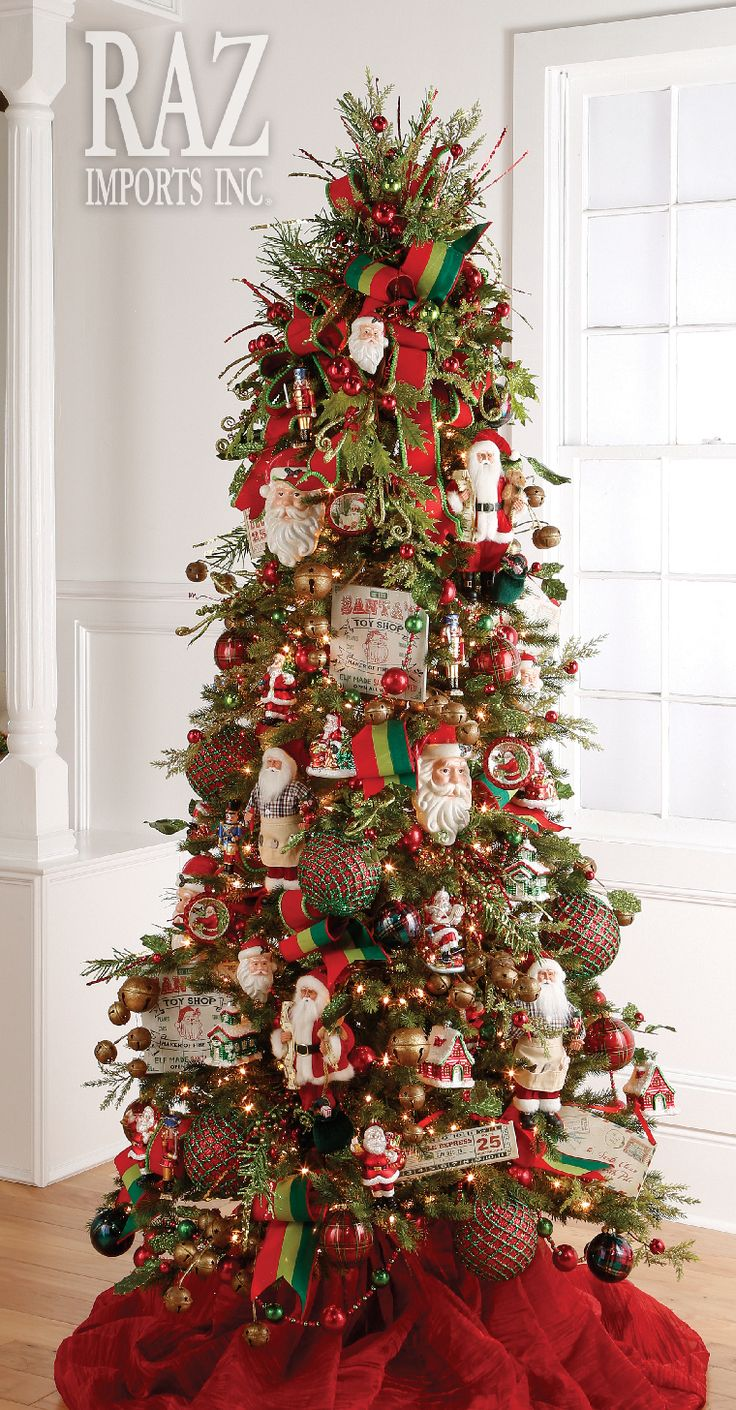 17 best images about christmas trees santa on pinterest for Christmas tree mural