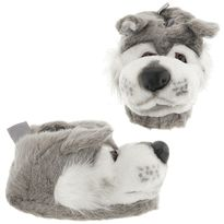 Wolf Animal Slippers for Women and Men