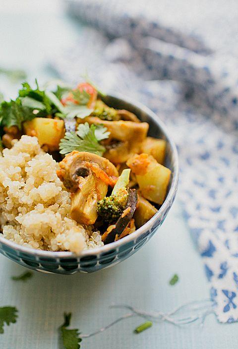 Estufadinho de quinoa