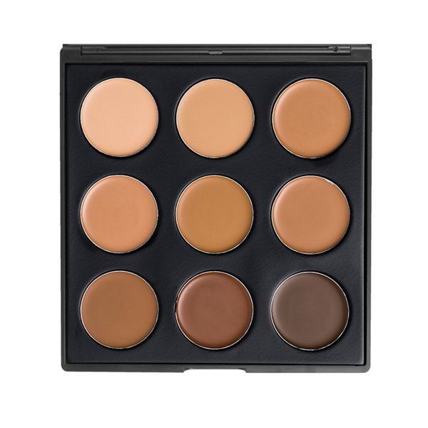 Create the perfect look with this medium to heavy coverage foundation. This palette contains Warm colors to match any complexion with Olive undertones. With 6 different shades, you can mix and match o
