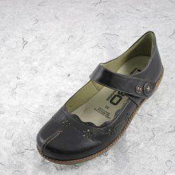 Kubo Nellie Black Shoe