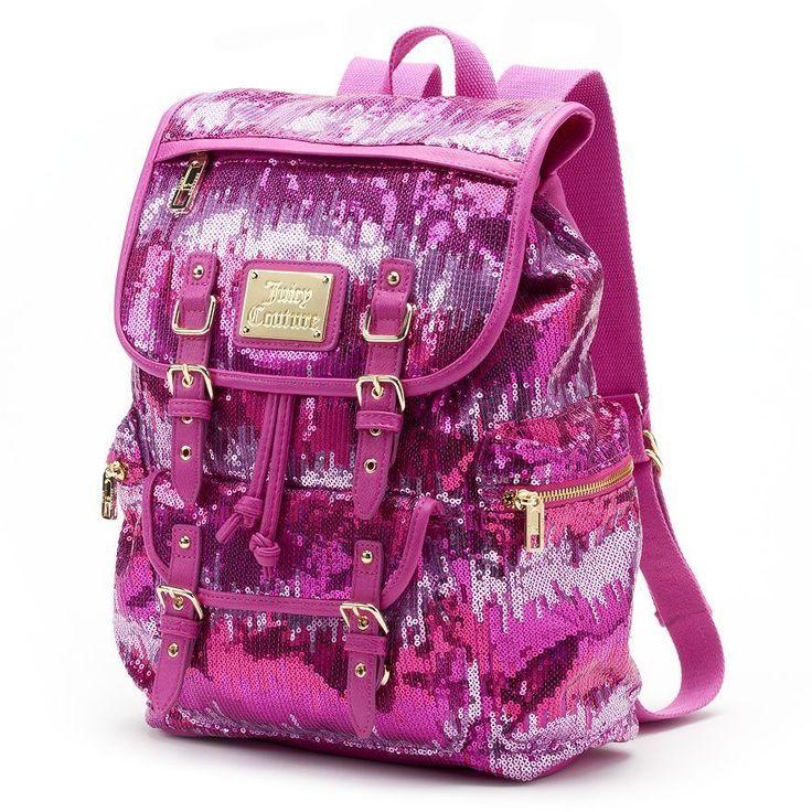Рюкзаки от juicy couture dell рюкзаки для ноутбуков