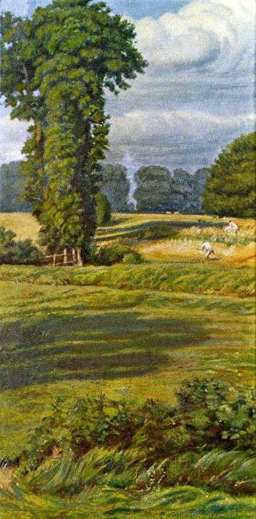 William Holman Hunt: A Summer Landscape (1910)