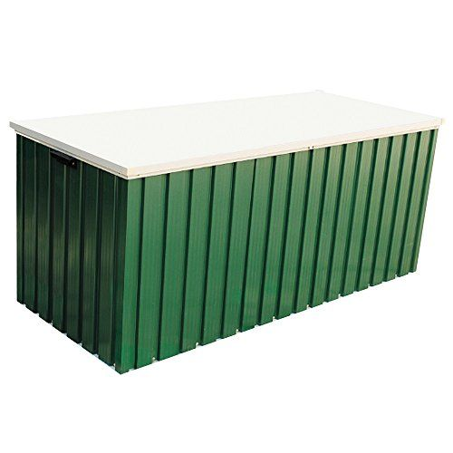 Duramax Green Metal Cushion Storage Box 6x2 Cushion Storage Box---979---