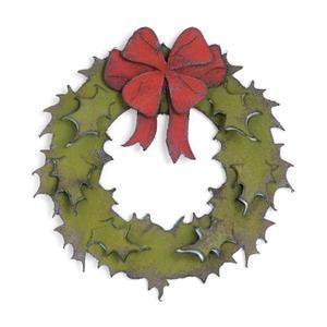 Sizzix, Tim Holtz, Bigz Die, Holiday Wreath