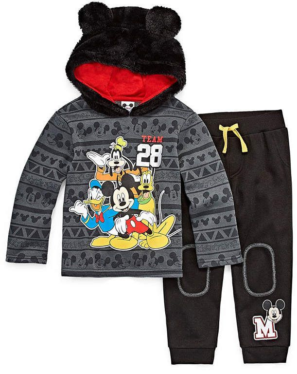 11b16d6a2 DISNEY BY OKIE DOKIE Disney by Okie Dokie Mickey Mouse 2-pc. Pant Set  Toddler 2t-5t Boys#ad#mickey#mickeymouse#disney#kids#fashion#boys#toddler#  ...