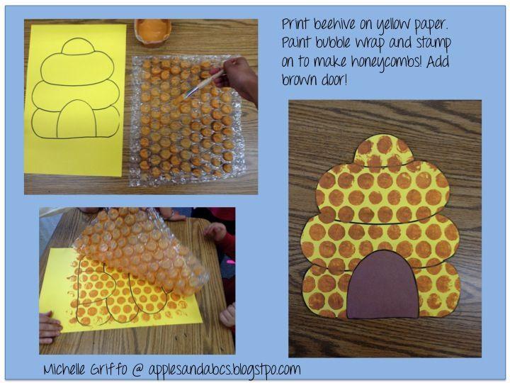 honeycomb bulletin board ideas | Apples and ABC's: Adventures in Kindergarten