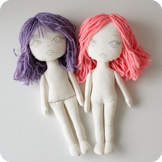 new cloth dolls | Flickr - Photo Sharing!