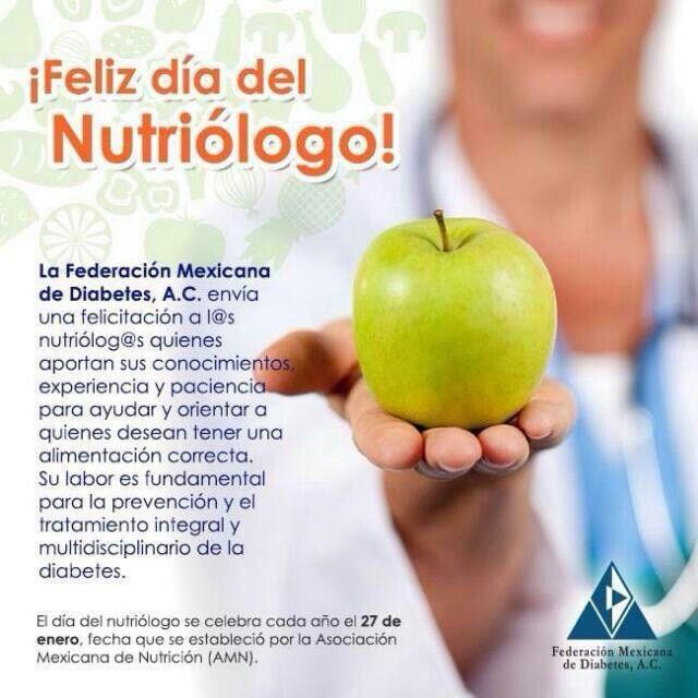 Día del nutriologo