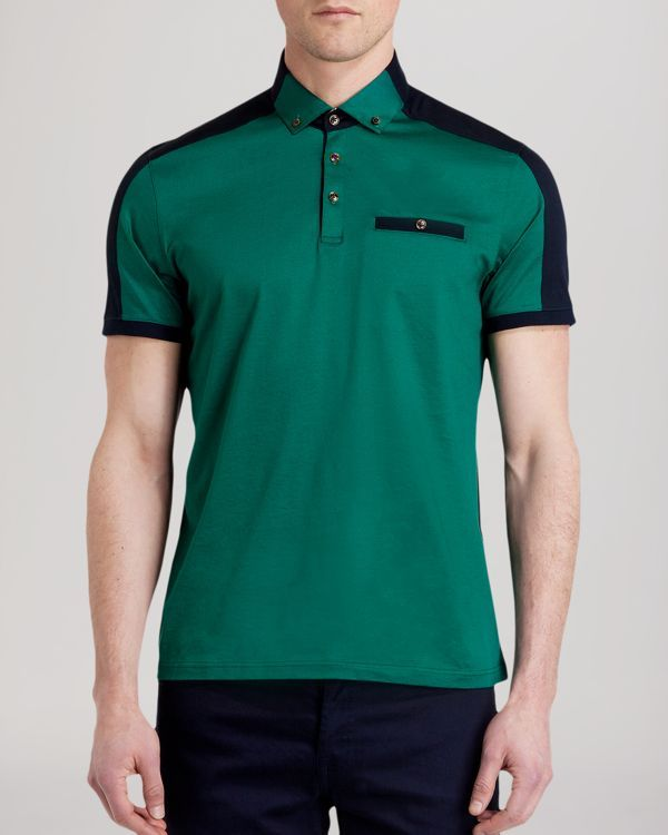 Ted Baker Kowala Two-Tone Polo Shirt