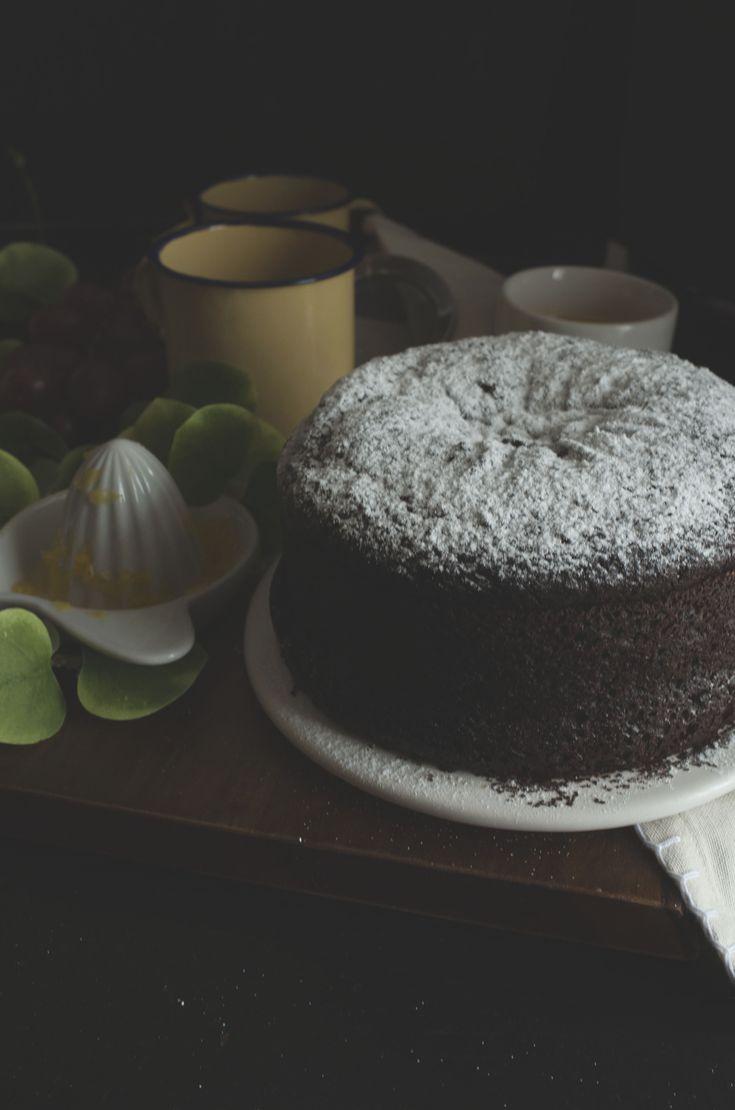 Torta integrale cioccolato, senza burro e senza uova_13