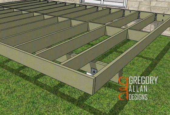 20 Best Building Single Deck Wood Patio Images On
