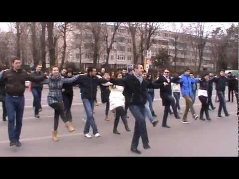 Flash mob la Constanţa de Ziua Greciei