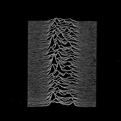 cover art is a lost art - 'unknown pleasures', joy division -